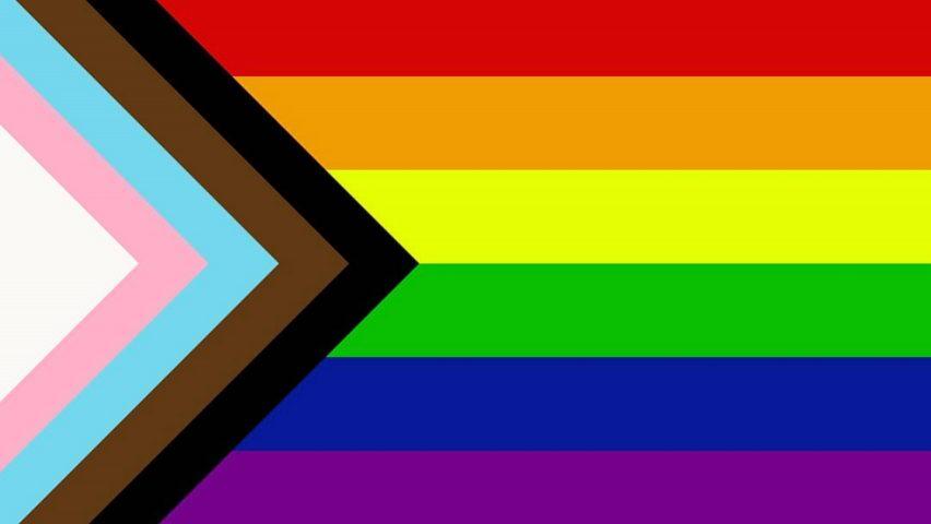 Queer progress flag