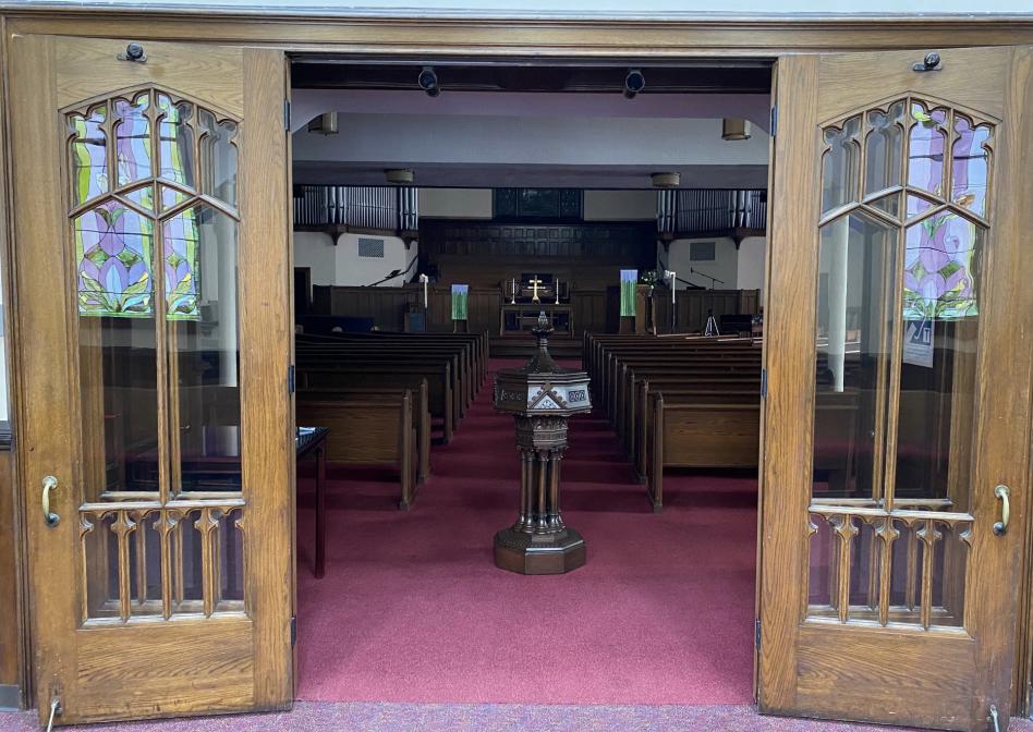 Open doors to sanctuary